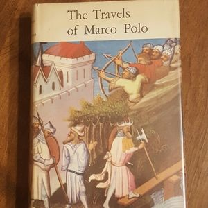 VINTAGE 1958 THE TRAVELS OF MARCO POLO HARDCOVER